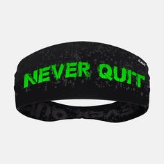 Never Quit Double-sided Wide Headband