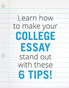 Conquering The College Admissions Essay In  Steps Second