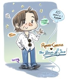 Robert Carlyle FanArt: This is too cute...love it! ❤