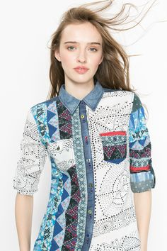 Indian, ethnic, exotic, tribal... call it what you want but this shirt will make casual jeans improve. Wear it your way.