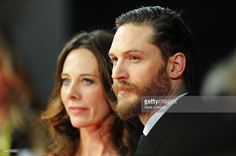 Kelly Marcel and Tom Hardy attend the EE British Academy Film Awards 2014 at The Royal Opera House on February 16, 2014 in London, England.