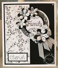 Created using my Sentimentally Yours Chalkboard Essentials Stamps and Papers :-)