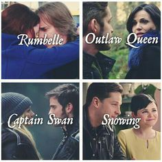 I Love Our Once Upon a Time Couples; although i'm a bit disappointed in rumpel the end of season 3.