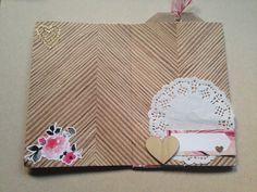 Sanvalentin mini album hello love crate paper julia super scrap YouTube chanel