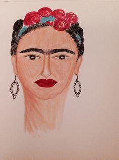 É ela! Minha Frida! #canetasCopic