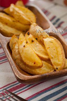 fırında patates kızartması
