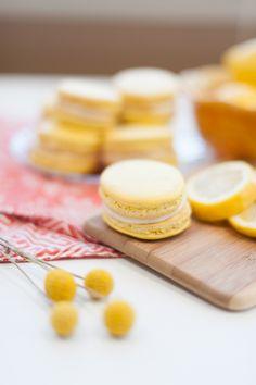 Lemon Macarons | Rue Magazine