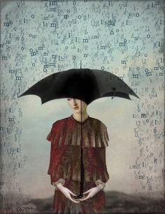 'Raining Words' | artist Catrin Welz-Stein