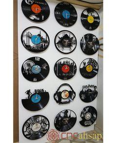 Lazer Kesim Dekoratif Saat   Laser Cut Decorative Clock