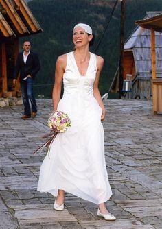 Robe de mariée de la célèbre designer serbe Verica Rakocevic.