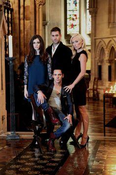 Jessica de Gouw, Oliver Jackson-Cohen, Jonathan Rhys Meyers & Victoria Smurfit