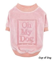 Oh My Dog Pinkaholic - Pink à retrouver sur www.cupofdog.fr