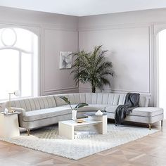 Valencia 3-Piece Terminal Chaise Sectional #westelm