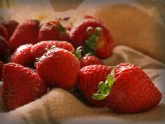Fresh Strawberries - By Valerie Mellema
