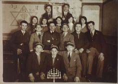 This photograph was taken in Siennica in 1932. The occasion was the commemoration of the 51st anniversary of the death of Joseph Trumpeldor by Siennica's Betar organization.