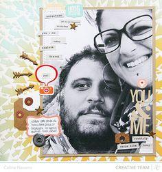 You & Me * Studio Calico Thataway* by celine navarro at @Studio_Calico
