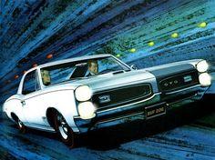 1966 Pontiac GTO Hardtop Coupe - 'Vrooom': Art Fitzpatrick and Van Kaufman