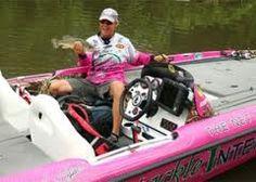 bass boat pink
