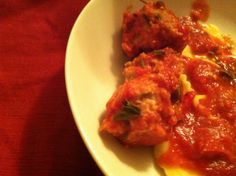 Turkey or Chicken Slow Cooked Meatballs