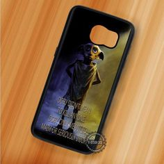 Doby's Quote Harry Potter - Samsung Galaxy S7 S6 S5 Note 7 Cases & Covers