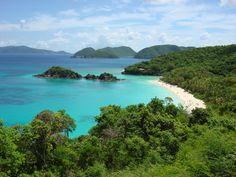 St John Virgin Islands, Trunk Bay
