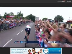 Minority sport in the UK this cycling lark