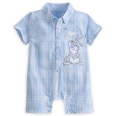 (Disney) Disney US official merchandise almost Thumper Bambi romper clothes baby clothes baby baby baby baby boys girls capdase Thumper Romper for Baby toy store presents gifts birthday popular kids children adult man children