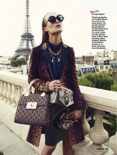 accessorize- Egle Jezepcikaite in Glamour Germany October 2012