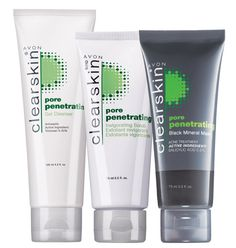 Clearskin® Pore Penetrating 3-Piece In the Clear Collection  ALL FOR $9.99