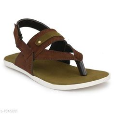 Sandals Men's Casual Sandal Material: Sole Material - PU, Outer Material -  Suede IND Size: IND - 6, IND - 7, IND - 8, IND - 9, IND - 10  Description: It Has 1 Pair Of Men's Casual Sandals Sizes Available: IND-6, IND-7, IND-8, IND-9, IND-10   Catalog Rating: ★4 (681)  Catalog Name: Casual Trendy Men's Casual Sandals Vol 3 CatalogID_173214 C67-SC1238 Code: 354-1346831-999