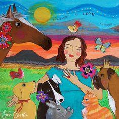 Impresión: Rodeado de amor siempre 47-P por LoriPortka en Etsy