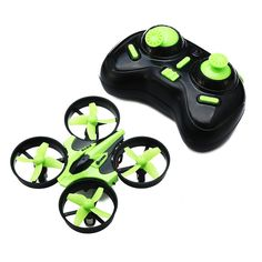 Eachine E010 Mini 2.4G 4CH 6 Axis Headless Mode RC Quadcopter RTF Sale - Banggood Mobile