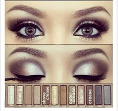urban decay - naked palette 1