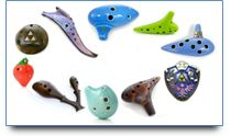 Ocarina Flutes and Music for Sale at Songbird Ocarinas