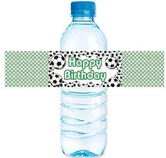 CakeSupplyShop Item45360 24pack Soccer Party Decorations Water Bottle Stickers Labels * You can get more details by clicking on the image.Note:It is affiliate link to Amazon.