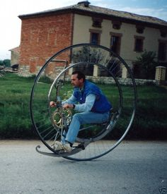 Steampunk 1873 Monocycle/Monowheel Replica Project Details