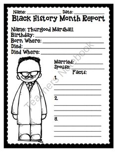 Black history month essay