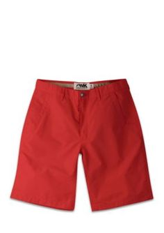 Mountain Khakis Men's Relaxed-Fit Poplin Shorts - Red - 40 10In.