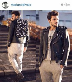 MARIANO DI VAIO with SHOP ART #backpack #collection #new #fallwinter13 #eye #superfashion #cool
