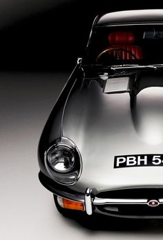 The Jaguar E - Type, often called the most beautiful car ever built.
