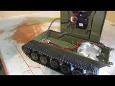 Heng Long 1/16 M41A3 Bulldog RC Tank, Dual 540 motors, Worm gear drives - YouTube