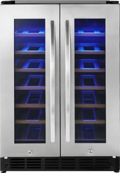 Insignia™ - 42 Bottle or 114 Can Built-in Dual Zone Wine and Beverage Cooler - Stainless steel - Alt_View_Zoom_14