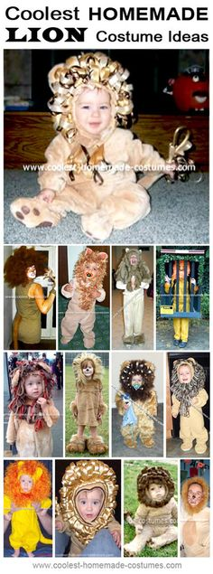 Homemade Lion Costume Collection - Coolest Halloween Costume Contest