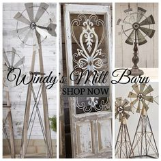 Shop Windy's Mill Barn #antiquemarketdecor