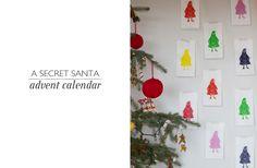 Secret Santa Advent Calendar.
