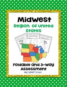 help your learners master the midwest region states and capitals with this folder in which the