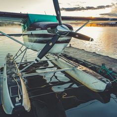 Stopped for a few sunrise shots at the lake on my way to the office. This #C206 stays busy in the Summer taking tourists on glacier tours bear viewing expeditions and flyout fishing. Flown by Charlie a friend of mine.