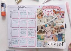 Learn how to create a vision board in your bullet journal so that you can visual your own goals. This easy step by step tutorial on how to make your own vision journal; a bullet journal vision board is perfect for the creative bujo addict in Vision Journal Ideas, Bullet Journal Vision Board, Creating A Bullet Journal, Bullet Journal Monthly Spread, Bullet Journal Hacks, Bullet Journal How To Start A, Bullet Journal Layout, Bullet Journal Inspiration, Bullet Journal Teacher