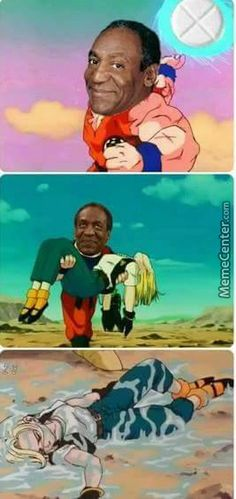 Cosbys special attack makes people go down faster than Yamcha - Meme Collection Best Funny Images, Funny Photos, Funniest Photos, Funny Jokes, Hilarious, Daily Funny, Dankest Memes, Dragon Ball, Anime