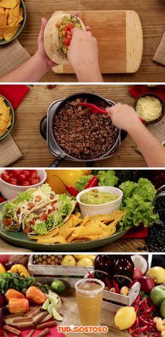 3 Receitas Mexicanas